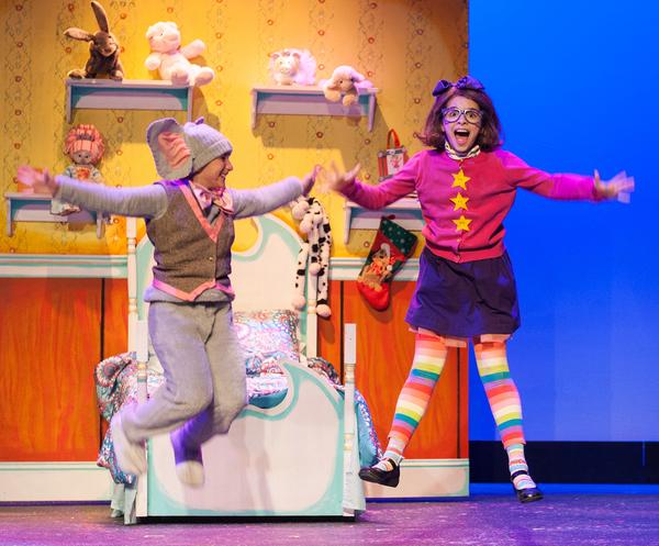 Photo Flash: First Look at Rivertown Theaters' JUNIE B. IN JINGLE BELLS BATMAN SMELLS