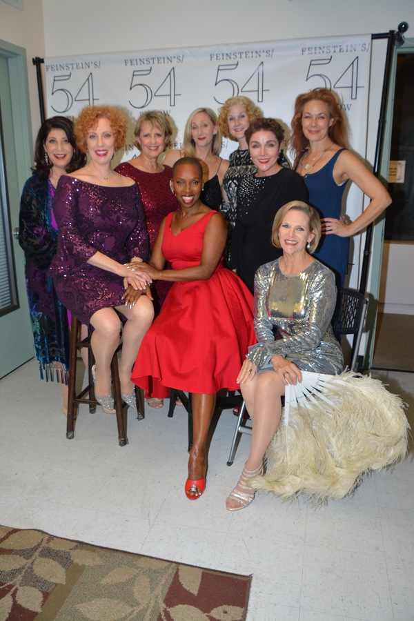 The Ladies- Shaelynn Parker, Ruth Gottschall, Carol Ann Baxter, Brenda Braxton, Jennifer Paulson Lee, Gwen Sarnoff, Christine Andreas, Colleen Dunn and Randall Edwards