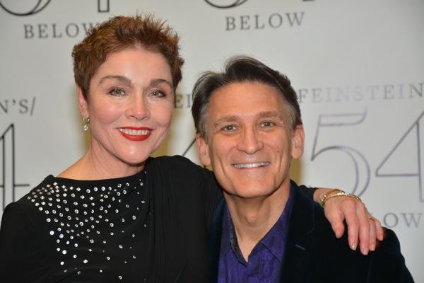 Christine Andreas and Bob Stillman