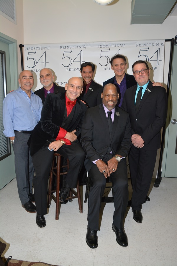 The Gentlemen of the cast- Paul Nunes, Mark Manley, Jonathan Cerullo, Norman Wendall Kauahi, Adrian Bailey, Bob Stillman and Kevin Weldon