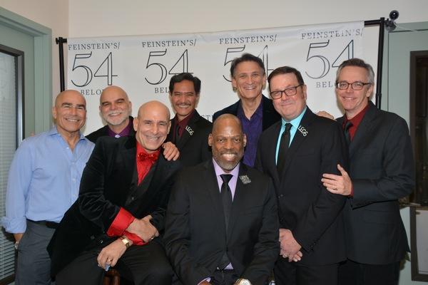 The Gentlemen of the cast- Paul Nunes, Mark Manley, Jonathan Cerullo, Norman Wendall Kauahi, Adrian Bailey, Bob Stillman, Kevin Weldon and Jim Fyfe