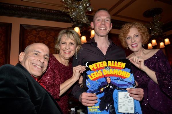 Jonathan Cerullo, Carol Ann Baxter, Ruth Gottschall and Auction Winner