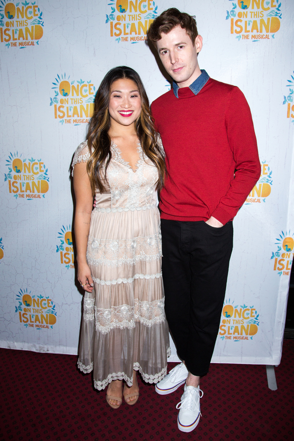 Jenna Ushkowitz, Blake Daniel Photo