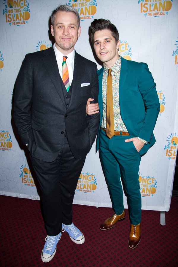 Photo Coverage: On the Opening Night Red Carpet for ONCE ON THIS ISLAND!