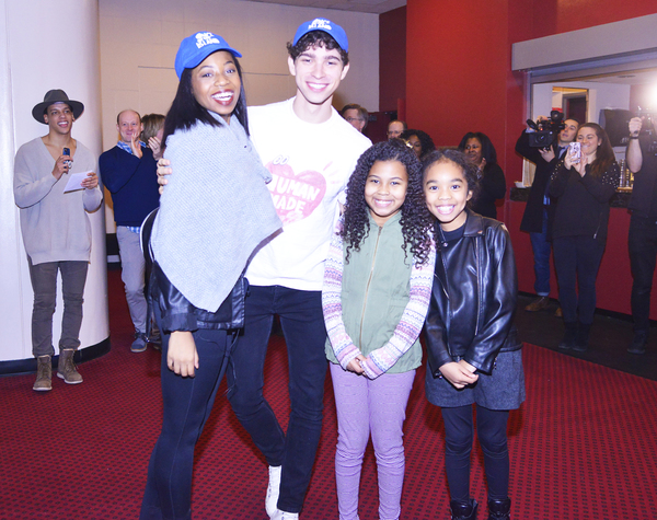 Broadway Debuts: Hailey Kilgore (Ti Moune), Isaac Powell (Daniel), Emerson Davis (Little Girl) and Mia Williamson (Little Girl)