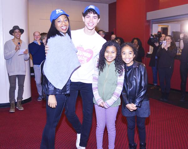 Broadway Debuts: Hailey Kilgore (Ti Moune), Isaac Powell (Daniel), Emerson Davis (Lit Photo