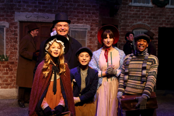 Photo Flash: First Look at MR. SCROOGE at Columbus Children's Theatre