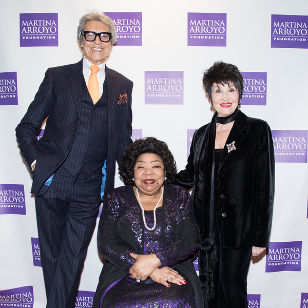 Tommy Tune, Martina Arroyo and Chita Rivera