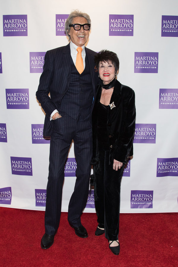 Photo Flash: Chita Rivera, Tommy Tune and More Honored at Martina Arroyo Foundation's 2017 Gala