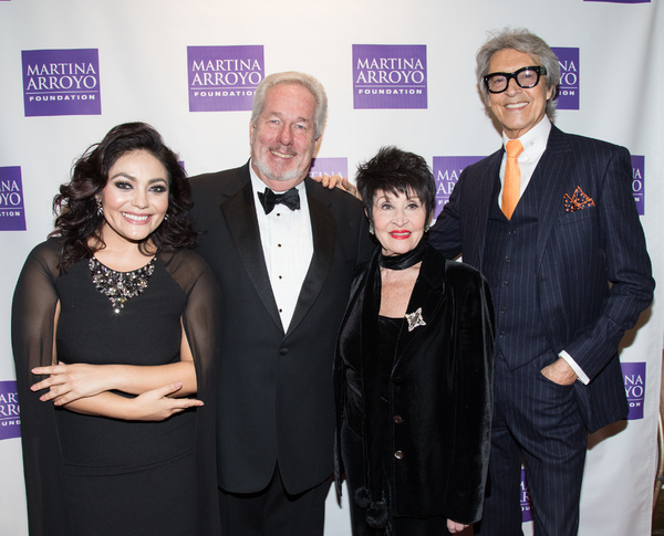 Ailyn Perez, James Morris, Chita Rivera and Tommy Tune