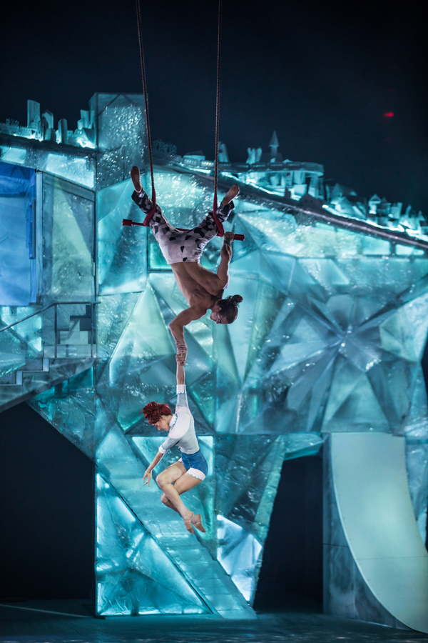 Photo Flash: First Look - Cirque du Soleil Skates Into the Surreal with CRYSTAL