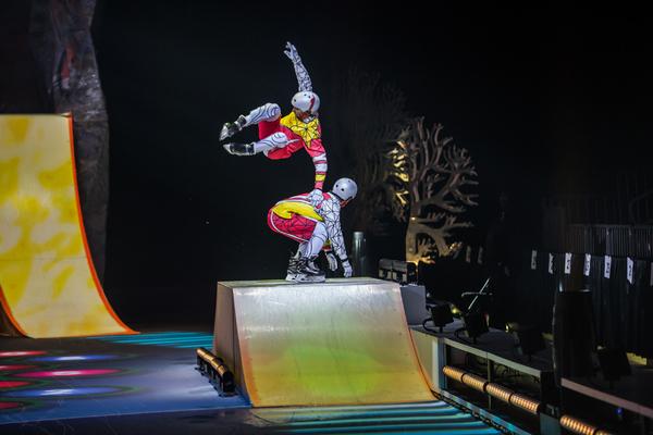 Cirque du Soleil's CRYSTAL