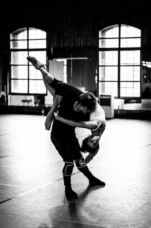 Photo Flash: First Look at Rehearsal for Project Polunin's SATORI