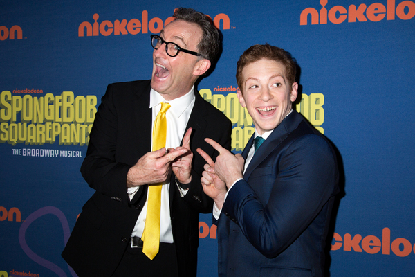 Tom Kenny, Ethan Slater Photo