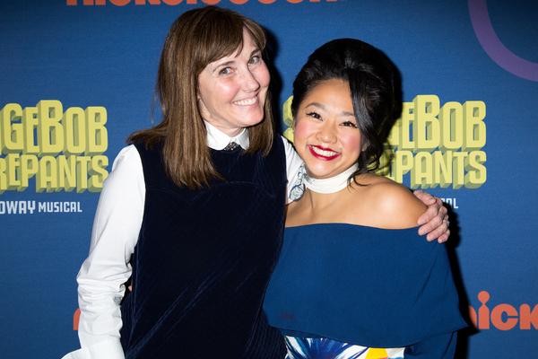 Jill Talley, Stephanie Hsu Photo