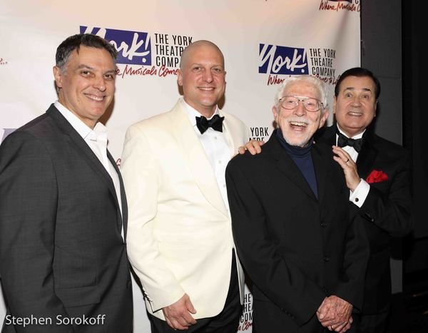 Robert Cuccioli, Christopher Sieber, Tom Jones, Lee Roy Reams