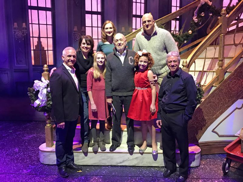 PHOTO: Composer Charles Strouse Visits ANNIE At Paper Mill Playhouse