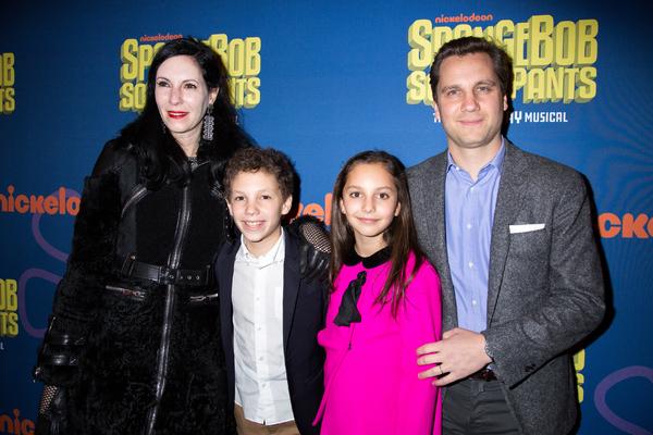 Jill Kargman, Harry Kargman, and family