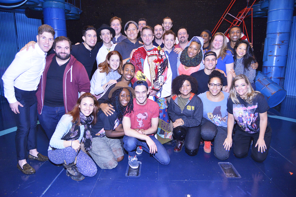 Photo Flash: Curtis Holbrook Takes Home the Gypsy Robe for SPONGEBOB SQUAREPANTS!