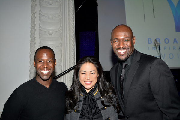 Marcus Paul James, Lisa Sun (Project Gravitas) and John Eric Parker Photo