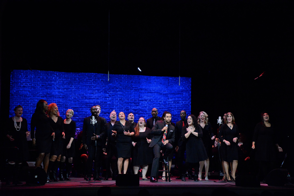 Photos: Broadway Inspirational Voices Gets Ready for the Holidays with RISE UP