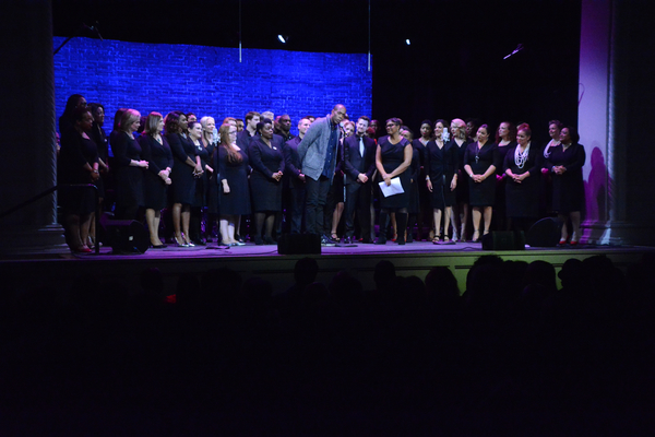 Michael McElroy and Broadway Inspirational Voices