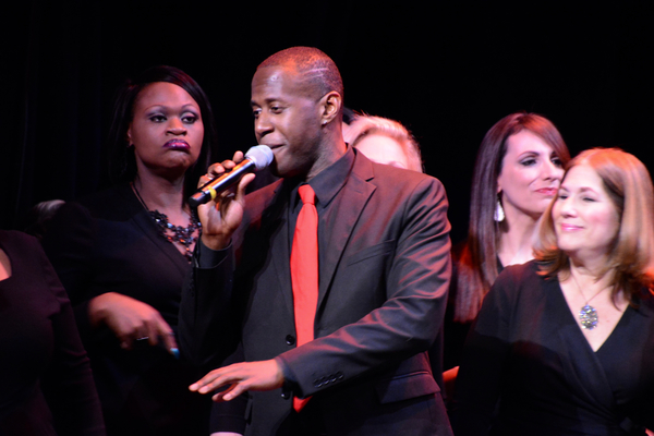 Photo Coverage: Broadway Inspirational Voices Gets Ready for the Holidays with RISE UP
