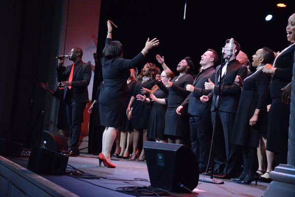 Marcus Paul James and Broadway Inspirational Voices