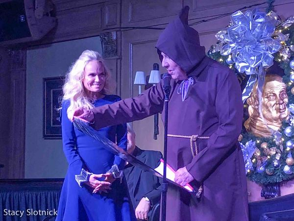 Kristen Chenoweth becomes a Friar