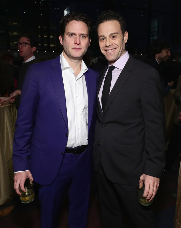 Steven Pasquale and Matt Rauch
