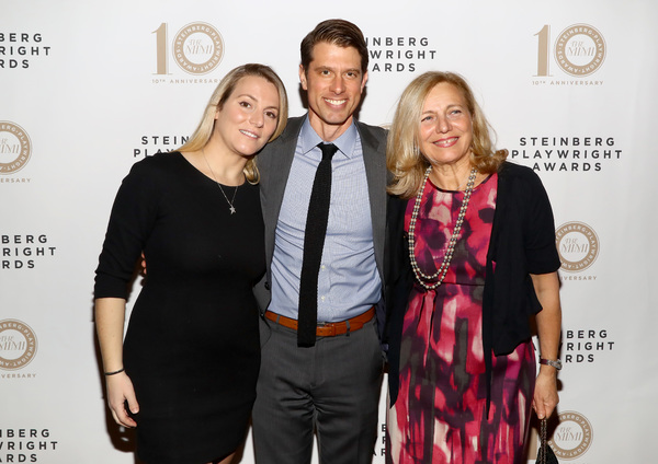 Shirley Steinberg, Justin Steinberg and Bridget Lipsker