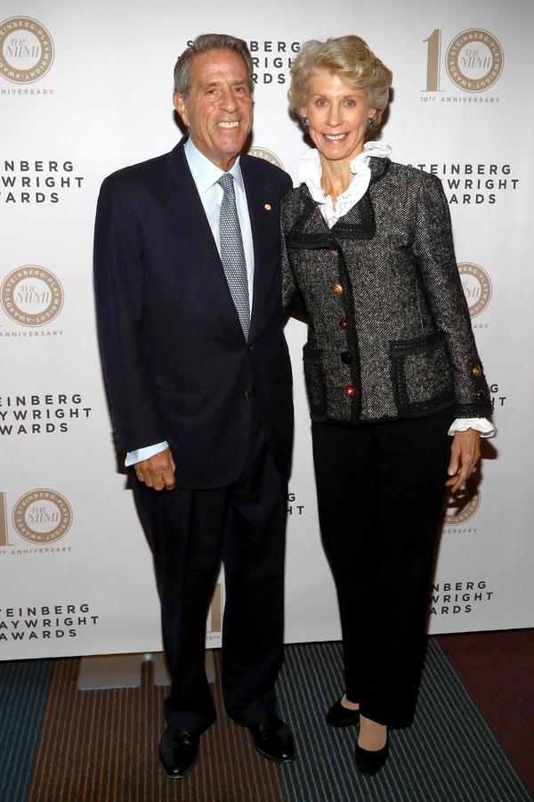 Board member Michael Steinberg and Joan Steinberg Photo