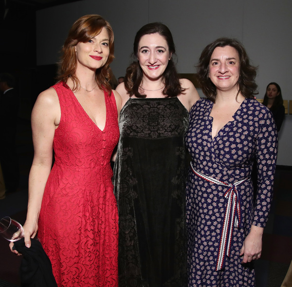 Katie Honaker, Jacquelyn Landgraf and Anya Saffir