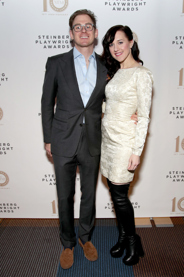 Jonathan Stein and Lena Hall Photo