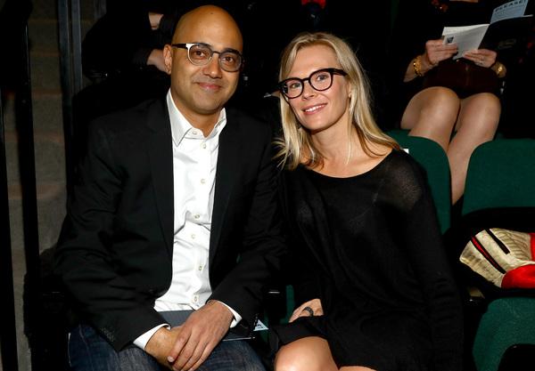 Honoree Ayad Akhtar and Annika Boras Photo