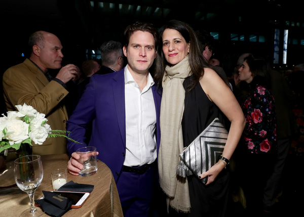 Steven Pasquale and Nadia Malik
