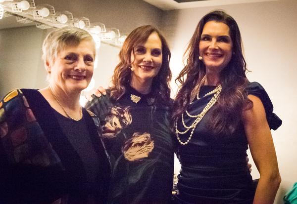 Dana Ivey, Lesley Ann Warren and Brooke Shields