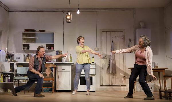 Ron Cook, Deborah Findlay and Francesca Annis Photo