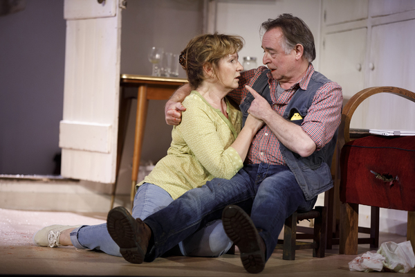 Deborah Findlay and Ron Cook Photo