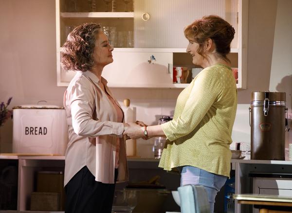 Francesca Annis and Deborah Findlay Photo