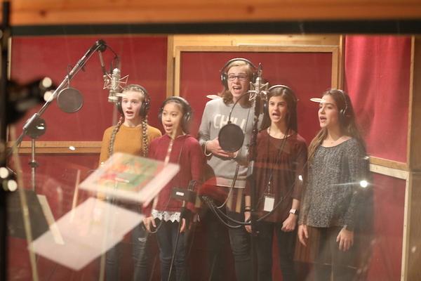 Photo Flash: Go Inside the Recording Studio with the Cast of Off-Broadway's DANCE DIVAS NUTCRACKER