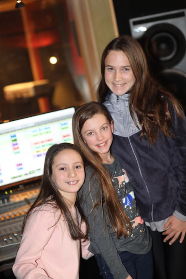 Mia Ganapolsky, Ava Grace,  Caitlin McGinty