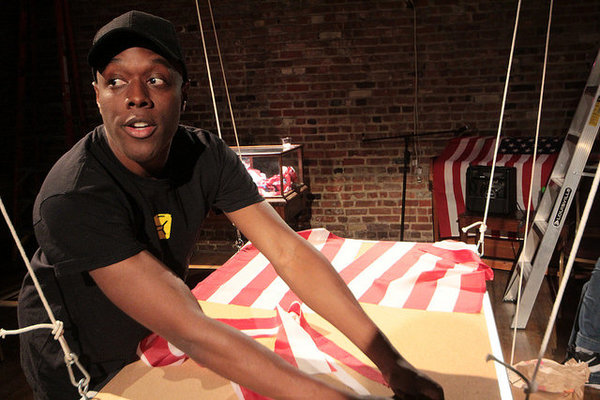 Photo Flash: The Brick Theater, Inc. presents UNTITLED AMERICAN FLAG CRAFT PROJECT