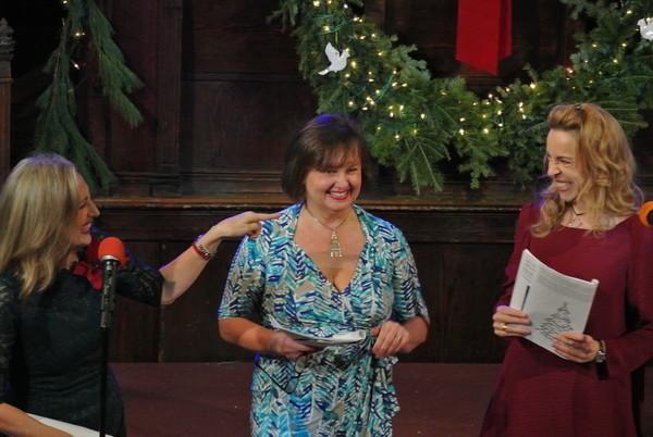 Broadway vets Paula Leggett Chase, Jennifer Allen, and Ellen Harvey join in the joy of the Sing Along.