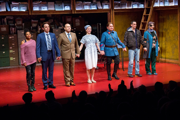 Rebecca Naomi Jones, Max Gordon Moore, Danny Burstein, Tina Benko, Zach Grenier, Stephen Stocking, Nadia Bowers