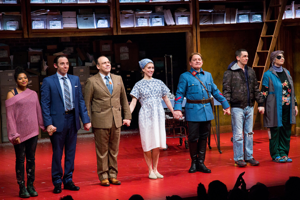Photo Coverage: Atlantic Theater Company Celebrates Opening Night of DESCRIBE THE NIGHT