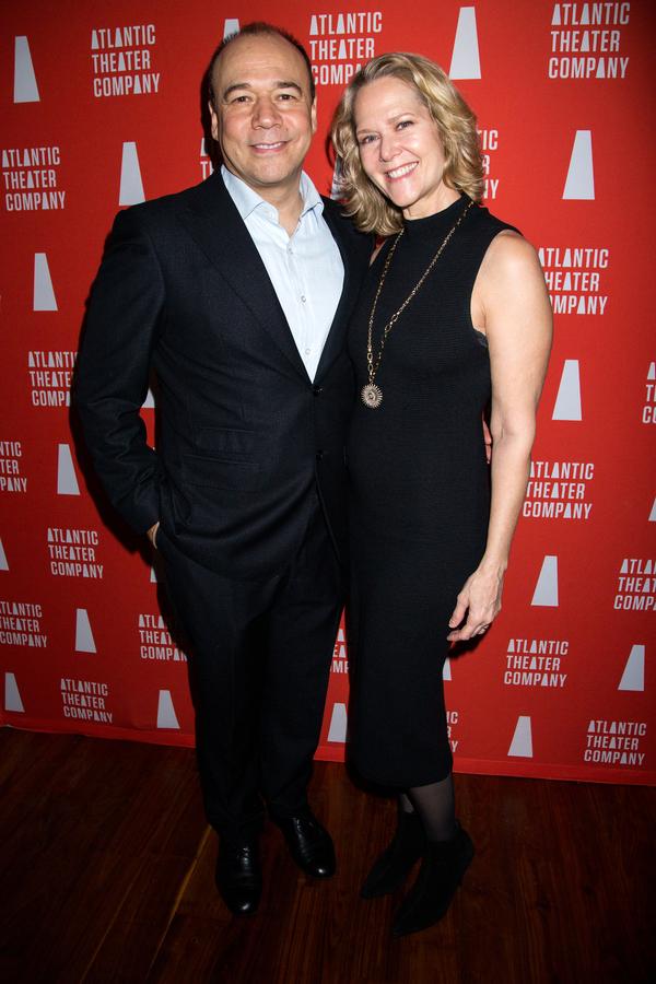 Danny Burstein, Rebecca Luker