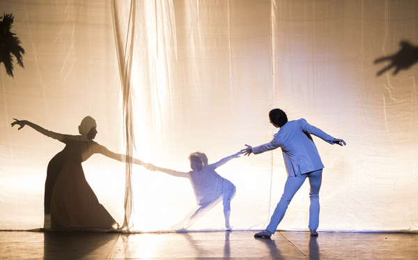 A scene from Satori from Project Polunin @ London Coliseum.  (Opening 06-12-17) ©T Photo