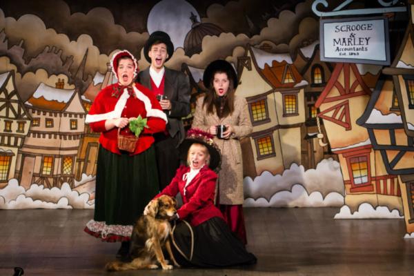 Fa La La La La with Kelsey Riker, Michael Albert, Carla Costabile and Bravo & Brenda Bell  Photo by Martin Harris