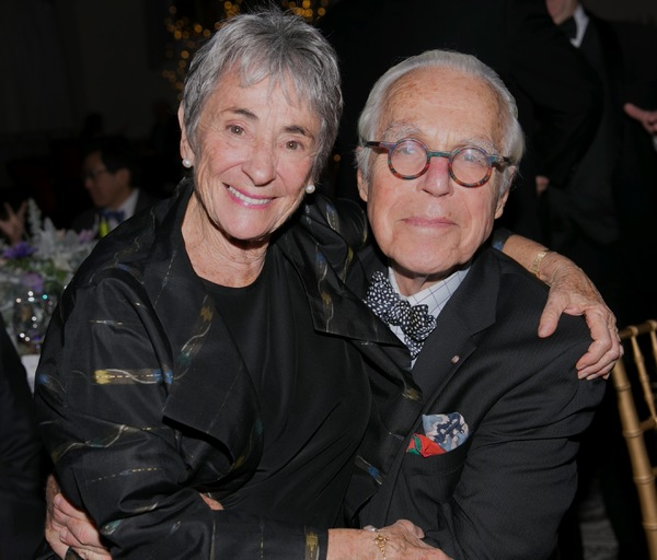 Margot Harley and John Guare